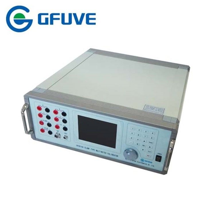 Clamp Type Multimeter Test Equipment GF6018A Handheld Single Phase AC Power Supply