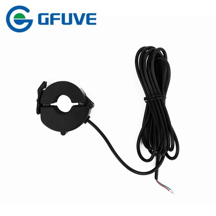 Black Split Core Current Transformer 75kv Low Voltage Current Transformer